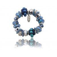 Śliczna niebieska bransoletka