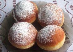 Trošku prácne, ale stoja za to. Czech Recipes, Desert Recipes, Hamburger, Food And Drink, Bread, Cooking, Sweet, Yum Yum, Basket