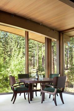 Valhalla Residence is a modern rustic dwelling that has been recently completed by RKD Architects, nestled on a forest site high in the Sierra Mountains, Truckee, California