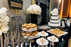 Cookies and Milk Dessert Bar. Omni Orlando Resort at ChampionsGate Lauren & Alex. The Hons Photography. Floral by Lee James Floral Designs.