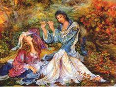 By Iranian Artist: Mahmoud Farshchian