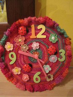 My Crochet Clock