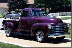 Vintage Trucks Classic 1949 Chevrolet Truck More - Vintage Pickup Trucks, Classic Pickup Trucks, Vintage Cars, Antique Cars, Hot Rod Trucks, Cool Trucks, Lifted Trucks, Lifted Chevy, 4x4 Trucks