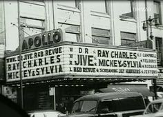 Ray Charles Video Museum: Ray Charles Headlining Dr. Jive's (Last?) R&B Revue At The Apollo (1958)