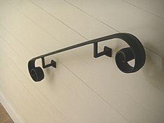 Traditional Railings - Wrought Iron Railings — Hudson Custom ...