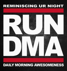 28cfe478cddb Reminiscing UR Night RUN DMA Daily Morning Awesomeness Sticker - KCCO  Decals Chive On Stickers Chivette