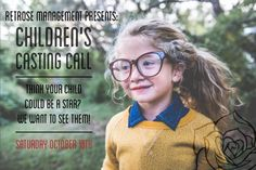We are launching Retrose Management's Children's Division in Austin, Texas on October 18th! Follow the link to book your time-slot: http://www.retrosemanagement.com/childrens-casting-call-in-austin-texas/  #RetroseManagement #Austin #AustinTexas #ATX #512 #CuteKids #KidsofAustin #AustinFashion #AustinStyle #ChildrensDivision #Rosebuds #MiniRoses #Roses #Model #Baby #Kids #Children