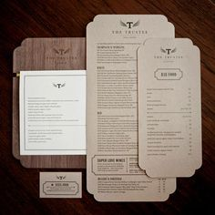 Project // Menu Design on Pinterest | Menu Design, Restaurant Menu ...