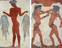 Η ζωή των Κυκλαδιτών - Ενότητα 8 - Ο Κυκλαδικός πολιτισμός Painting, Painting Art, Paintings, Painted Canvas, Drawings