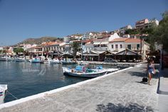 Pythagorion, Samos Samos Greece, Island, Spaces, Travel, Greece, Block Island, Islands, Viajes, Traveling