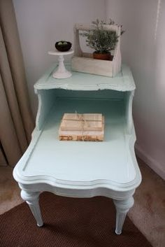 Should I paint the end table in the living room?