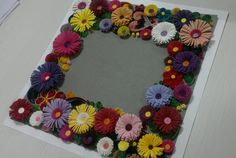 Quilled frame for photos names etc by Bloomboxx on Etsy, $30.00