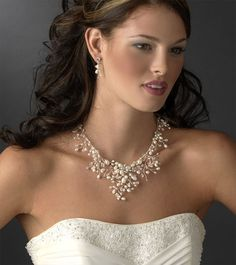 Freshwater Pearl Jewelry Set Bridal Love It But Too Expensive Wedding