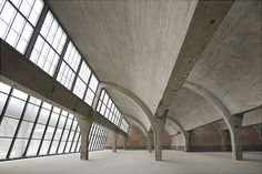 Pace Beijing by Richard Gluckman  The former munitions factory has been converted into an art gallery.