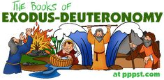 Free Powerpoints for Church - Exodus - Deuteronomy, Bible Study Old Testament FREE Presentations in PowerPoint format, Free Interactives and Games