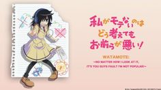 Sentai Filmworks Adds 'Watamote' Anime Home Video Rights