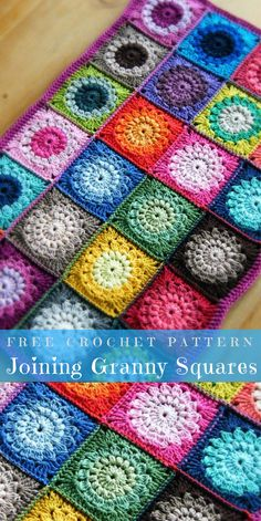 In this article, we present 12 amazing ways and different ideas which have to know every crocheter.  Crochet → Squares | size: any| Written | US Terms Level: beginner  #howtojoingrannysquare