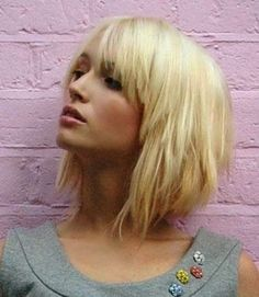 Full Fringe Shaggy Haircuts for Women