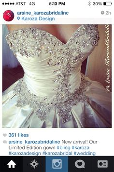 Allure bridals 9003 my dress Ivory gorgeous wedding dress gown bride ballgown bling Swarovski!!!!!
