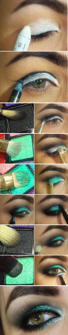 GreenWash Mint Makeup Tutorials | Love Makeup / Best LoLus Makeup Fashion: