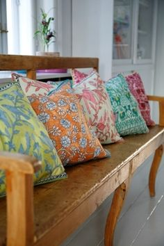 Rie Elise Larsen Embroidered Cushion Covers