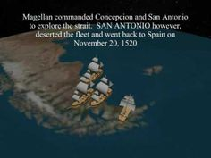 Ferdinand Magellan's voyage animated with captions and great musical score too =)