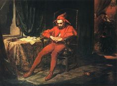 Image:StańczykbyJan Matejko:The jester is depicted as the only person at a royal ball who is troubled by the news that the Russians havecaptured Smolensk.