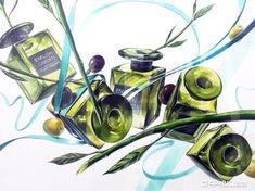 월간그린섬 2015.8월 마지막주 Colored Pencils, Surrealism, Art Drawings, Digital Art, Layout, Creative, Design, Blog, Painting
