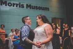 Cheri + Rachel's Same Sex Morris Museum Wedding || New Jersey Weddings || BG Productions Photography || www.bgproonline.com #firstdance #twobrides