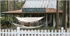The Hammock Weavers=Pawley's Island  Love the Hammock shops area! Pawley's Island Inn was my favorite restaurant at the beach! :)