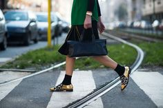 On the Streets of Milan Fashion Week Fall 2014  - MFW Day 5
