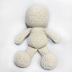 Armarinho São José: Como fazer Bonecos de Amigurumi em Crochê - Passo a Passo