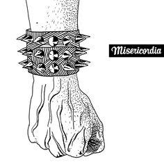 Rocker de Misericordia, dessin par le designer Aurelyen
