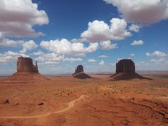 Monument Valley, Arizona.  Can I build a little home right in the middle? Okay, cool.