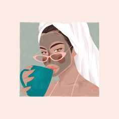 Image may contain: painting, illustration and cartoon Portrait Illustration, Graphic Illustration, Illustrations, Pix Art, Aesthetic Art, Cartoon Art, Vector Art, Art Drawings, Canvas Art