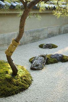 Adachi Museum of Art garden, Shimane, Japan