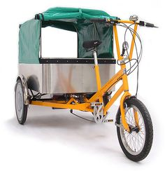 Cycles Maximus - Soft Top Cargo Trike