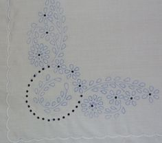 Hungarian stamped embroidery whitework pattern by lmntlcrafts, $7.50
