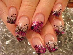 autumn nail designs | nail designs or colors look better or equally as good on short nails ...