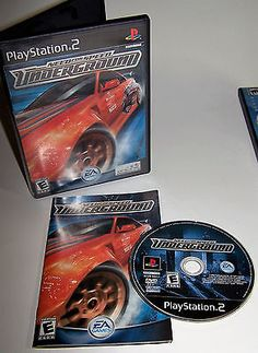 Need for Speed: Underground Sony PlayStation 2 Complete with Instructions - PS2 - http://video-games.goshoppins.com/video-games/need-for-speed-underground-sony-playstation-2-complete-with-instructions-ps2/