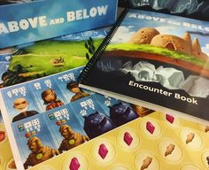 Above and below unboxing... The artwork is so beautiful  I can't wait to get this game to the table and start going on some adventures!! #AboveAndBelow #meow #BoardGames @redravengames by boardgamergirl