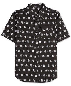 Men's Star Wars Stormtrooper Print Shirt
