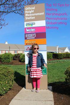 Top 10 Tips for Visiting HersheyPark, Pennsylvania.  Travel, Families, Kids, Hershey Park, Pennsylvania, Amusement Parks, Hershey Park with Kids, Family Travel.