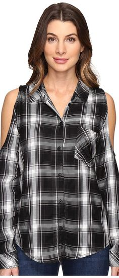 Sanctuary Delaney (Benatar Plaid) Women's Clothing - Sanctuary, Delaney, B0732-ZRF272-995, Apparel Top General, Top, Top, Apparel, Clothes Clothing, Gift, - Street Fashion And Style Ideas