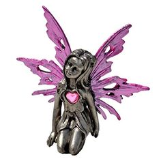 Pewter Fairy Figurine Statue Collectible Fantasy Mythical Decoration Décor, Love Fairy - Pink JoJoFrog http://www.amazon.com/dp/B00HQ45C38/ref=cm_sw_r_pi_dp_xMvPvb10SFD3X