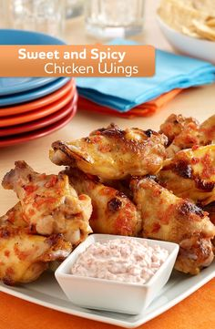 Sweet and Spicy Chicken Wings 2015 Week 8 Tailgating Chicken Wing Recipes - Dan330 http://livedan330.com/2015/10/29/2015-week-8-tailgating-chicken-wing-recipes/