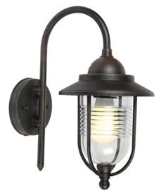 Outdoor lighting can be practical and stylish! With a dark bronze effect finish, this Marco bronze wall light creates a warm light. I'd have these in the back garden so I can enjoy the peace out there a little longer! Wall Lights, Security Lights, Outdoor Wall Lighting, Wall Lights Diy, Wall, Lights, Light, Diy Lighting, Warm Light