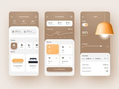 🧠 Smartest Home App 🏠 by Marina Logunova The Effective Pictures We Offer You About travel App Design A quality picture can tell you many things. You can find the most beautiful pictures that can be pr Ui Design Mobile, App Ui Design, Flat Design, Design Design, Design Home App, Design Layouts, Dashboard Design, Graphic Design, Interface Web