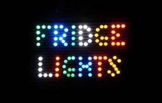 DIY Magnetic Refrigerator Lights