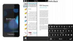 BlackBerry o RIM reveló el primer dispositivo (BlackBerry 10 DevAlpha) para su nuevo sistema operativo BlackBerry 10 en BlackBerry Wold 2012 que se realiza en Orlando, Florida. Junto con este nuevo celular, RIM presentó un poco de lo que su nuevo sistema operativo basado en QNX nos estaría ofreciendo.